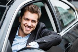 Kreditkarte für Autovermietung