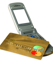 Kreditkarte mit SMS